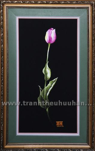 H024B- canh tulip